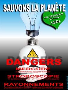 Les ampoules basse consommation sont elles dangereuses - Les lampes led sont elles dangereuses pour la sante ...