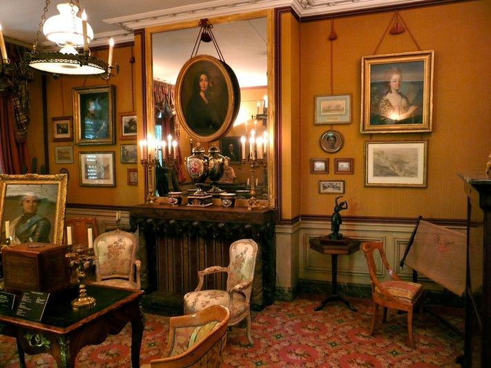 Le mus e de la vie romantique vergiberation 2 - Musee de la vie romantique salon de the ...